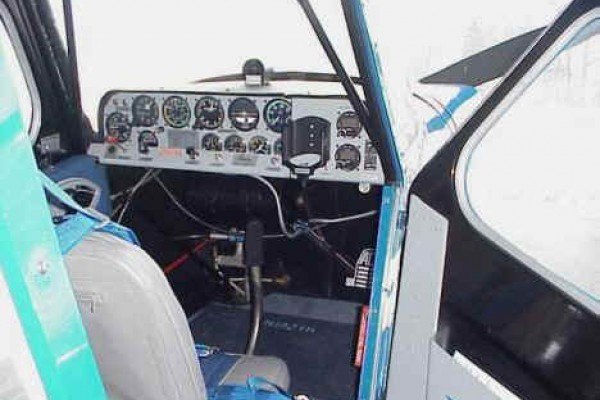 Bellanca Citabria Interior